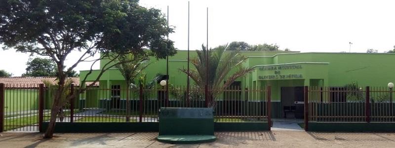 Sede - Câmara de Oliveira de Fátima-TO